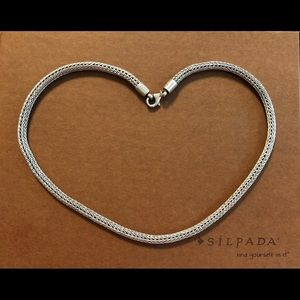 Silpada Omega Necklace Chain N0603 Retired-HTF